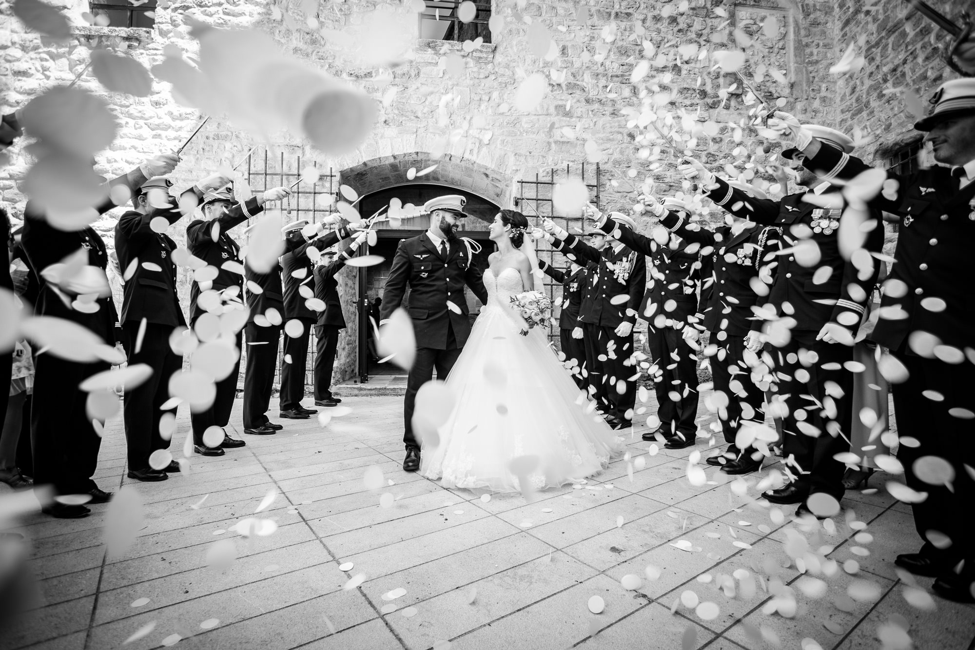 Mariage Trets Provence Chateau Roquefeuille